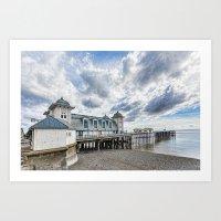 Penarth Pier Morning Light 3 Art Print