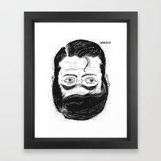 MMXIV Framed Art Print