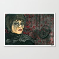 Rhymes For Young Ghouls Canvas Print
