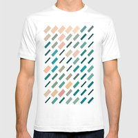 Color Story - Patches Mens Fitted Tee White SMALL