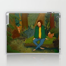 Chilling in the Woods Laptop & iPad Skin