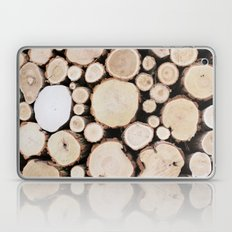 Woodpile Laptop & iPad Skin