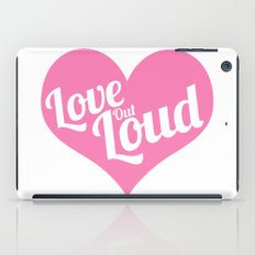 Love Out Loud - Color iPad Case