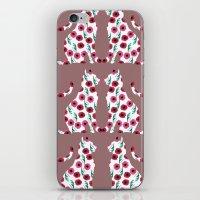 Flowercats! iPhone & iPod Skin