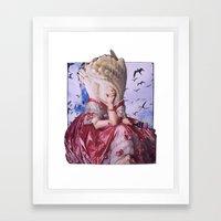 Fortuna | Collage Framed Art Print
