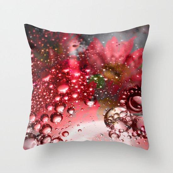 inflorescence beads Throw Pillow