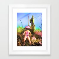 teonanakah 2 Framed Art Print