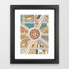 La Fontaine Framed Art Print