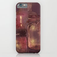 Flickering Stars iPhone 6 Slim Case