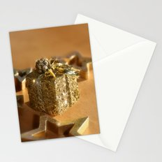 GOLDEN XMAS Stationery Cards