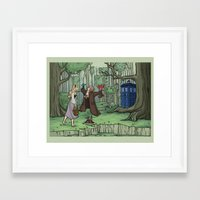 Visions Are Seldom All T… Framed Art Print