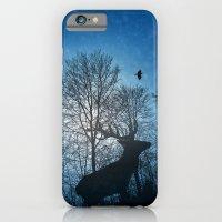 Deer In The Snow  iPhone 6 Slim Case