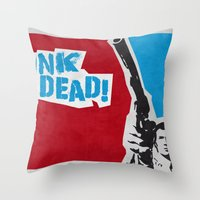 Punky Harry Throw Pillow