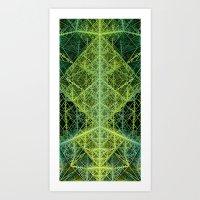 Dissected Octangula Art Print