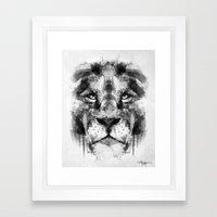 The King. Framed Art Print