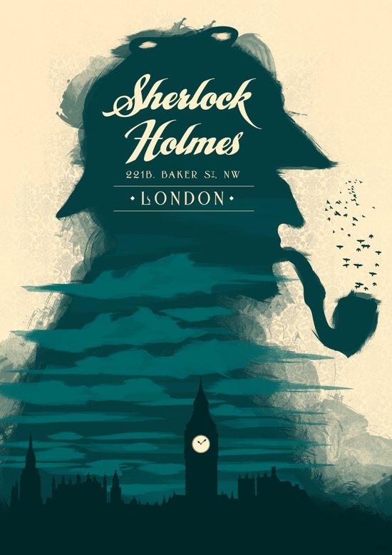 Elementary, my dear Watson. Canvas Print