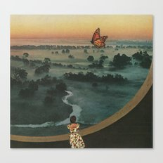 Butterfly (Land of the Mist) Canvas Print