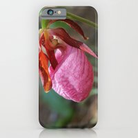 The Pink Lady Slipper iPhone 6 Slim Case