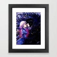 Heart Eater Framed Art Print
