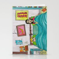 Bunk Buddies Stationery Cards