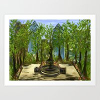 Rittenhouse Square In Th… Art Print