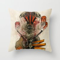 The Destroyer Throw Pillow