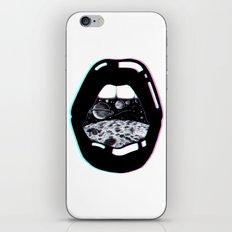 Space Lips iPhone & iPod Skin