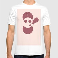 Circles&smoke Mens Fitted Tee White SMALL