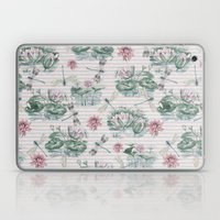 Water Lily Lake Laptop & iPad Skin