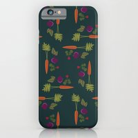 iPhone & iPod Case featuring Vegetable Medley [Grid] by Veronica Galbraith