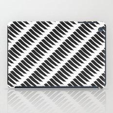 Black and White Tiger Stripes iPad Case