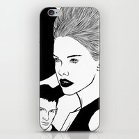 PRINT No 9 iPhone & iPod Skin