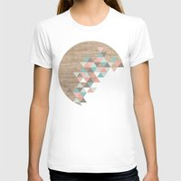 geometric T-shirts featuring Archiwoo by Marta Li