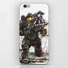 Bioshock Subject Delta and Little Sister iPhone & iPod Skin