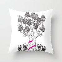 Tree Friends, Pt.3 Throw Pillow