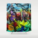 Special places oft exist where hearts desire most persists Shower Curtain