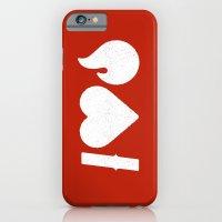 I Love Fire iPhone 6 Slim Case