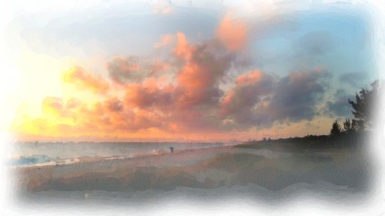 Vero Beach Sunrise Art Print