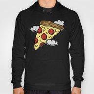 Floating Pizza Hoody