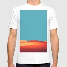 sensual desert  White Mens Fitted Tee SMALL