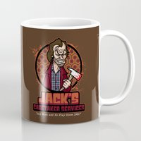 Jack's Caretaker Service… Mug