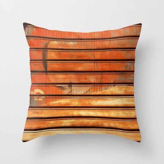 MiniHumanist II Throw Pillow