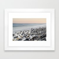 Gibraltar, Spain And Afr… Framed Art Print