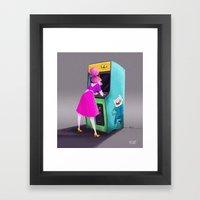 Princess Bubblegum  Framed Art Print