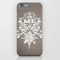 "iPhone & iPod Case featuring ""Send Me to the World"" by Joshua Kulchar"