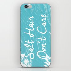 Salt Hair Don't Care  iPhone & iPod Skin