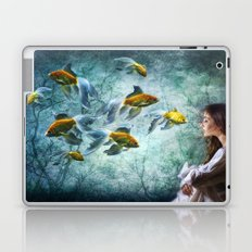 Ocean Deep Dreaming Laptop & iPad Skin