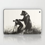 The Bear Encounter II Laptop & iPad Skin