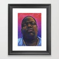 Biggie Smalls, The Notor… Framed Art Print