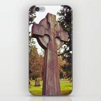 Simple Celtic Cross iPhone & iPod Skin